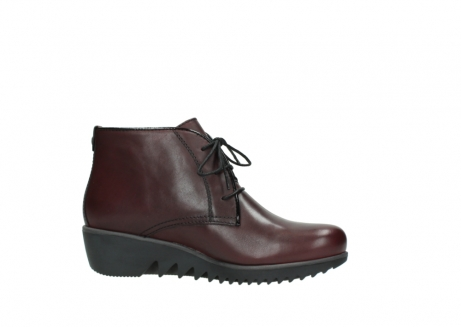 wolky lace up boots 03818 dusky winter 20510 burgundy leather_14
