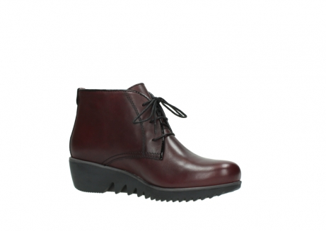 wolky lace up boots 03818 dusky winter 20510 burgundy leather_15