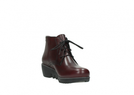 wolky lace up boots 03818 dusky winter 20510 burgundy leather_17
