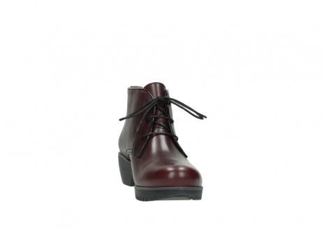 wolky lace up boots 03818 dusky winter 20510 burgundy leather_18