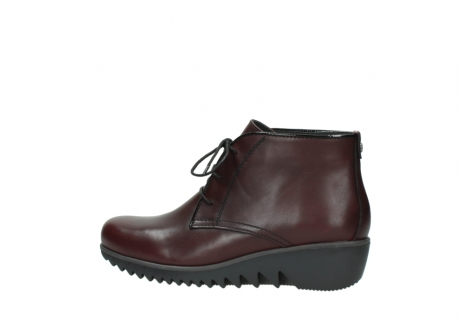 wolky lace up boots 03818 dusky winter 20510 burgundy leather_2