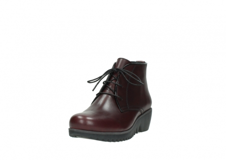 wolky lace up boots 03818 dusky winter 20510 burgundy leather_21
