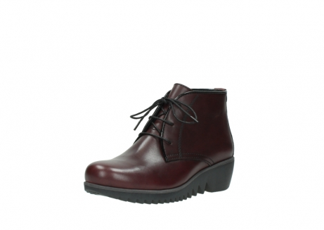 wolky lace up boots 03818 dusky winter 20510 burgundy leather_22