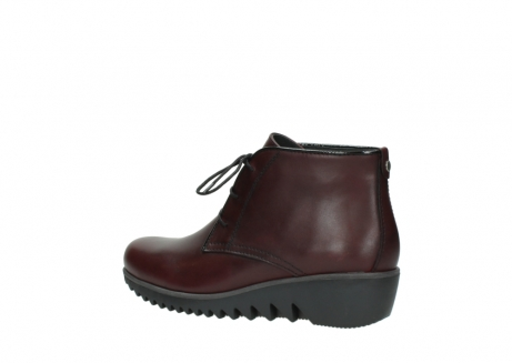 wolky lace up boots 03818 dusky winter 20510 burgundy leather_3