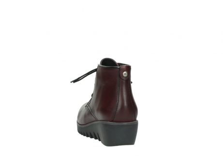 wolky lace up boots 03818 dusky winter 20510 burgundy leather_6