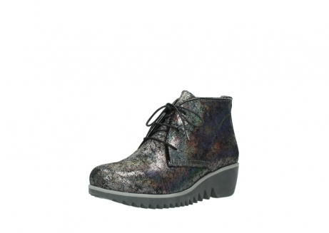 wolky lace up boots 03818 dusky winter 40280 grey metallic suede_22