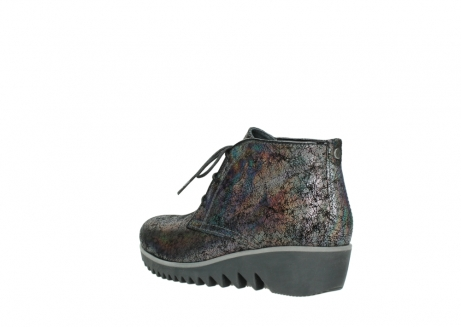 wolky lace up boots 03818 dusky winter 40280 grey metallic suede_4