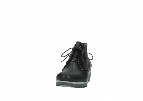 wolky lace up boots 03818 dusky winter 50010 black oiled leather_20
