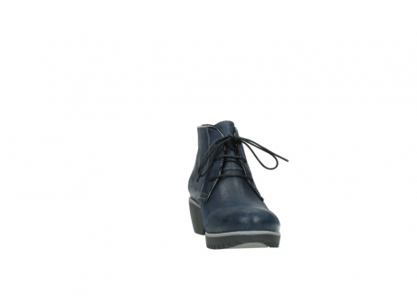 wolky lace up boots 03818 dusky winter 50800 dark blue oiled leather_18
