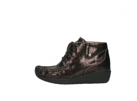 wolky lace up boots 04350 varosa 90300 brown craquele leather_1