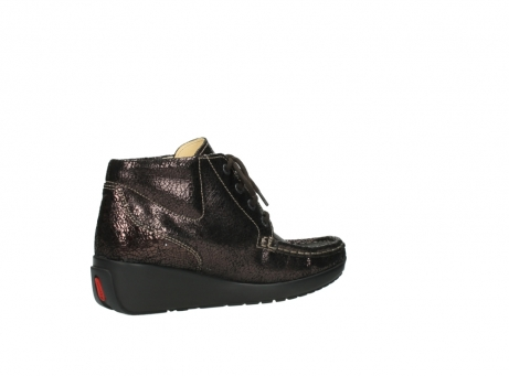 wolky lace up boots 04350 varosa 90300 brown craquele leather_11