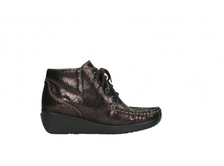 wolky lace up boots 04350 varosa 90300 brown craquele leather_13