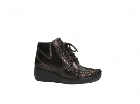 wolky lace up boots 04350 varosa 90300 brown craquele leather_15