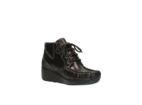 wolky lace up boots 04350 varosa 90300 brown craquele leather_16