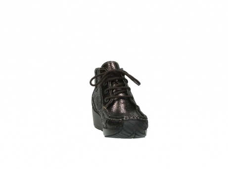 wolky lace up boots 04350 varosa 90300 brown craquele leather_18