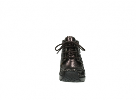 wolky lace up boots 04350 varosa 90300 brown craquele leather_19