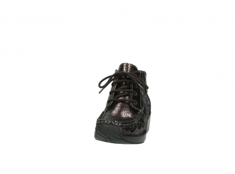 wolky lace up boots 04350 varosa 90300 brown craquele leather_20