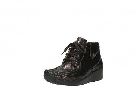 wolky lace up boots 04350 varosa 90300 brown craquele leather_22