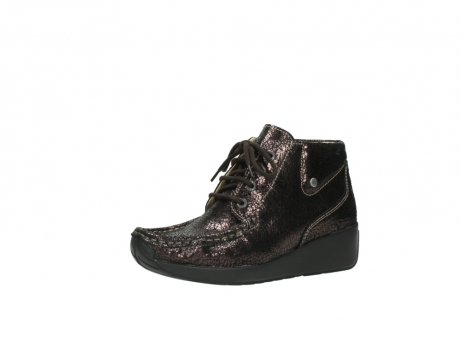wolky lace up boots 04350 varosa 90300 brown craquele leather_23