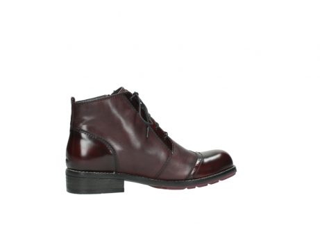 wolky lace up boots 04440 millstream 30510 burgundy polished leather_12