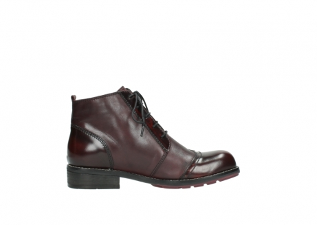 wolky lace up boots 04440 millstream 30510 burgundy polished leather_13