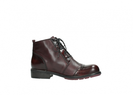 wolky lace up boots 04440 millstream 30510 burgundy polished leather_14