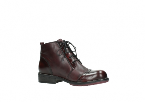 wolky lace up boots 04440 millstream 30510 burgundy polished leather_15