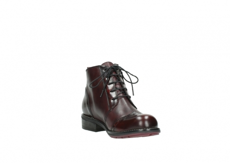 wolky lace up boots 04440 millstream 30510 burgundy polished leather_17