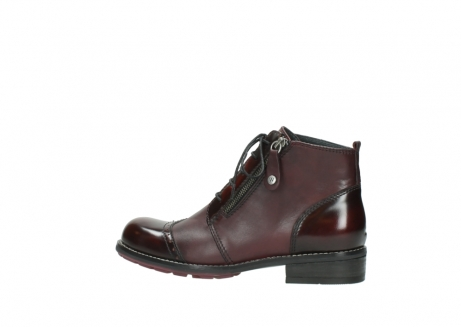 wolky lace up boots 04440 millstream 30510 burgundy polished leather_2