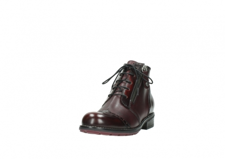 wolky lace up boots 04440 millstream 30510 burgundy polished leather_21