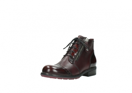 wolky lace up boots 04440 millstream 30510 burgundy polished leather_22