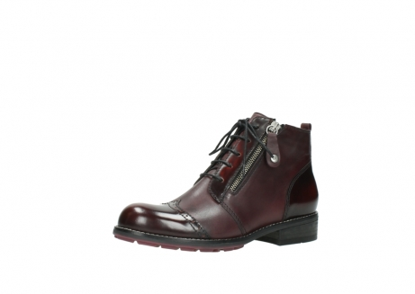 wolky lace up boots 04440 millstream 30510 burgundy polished leather_23