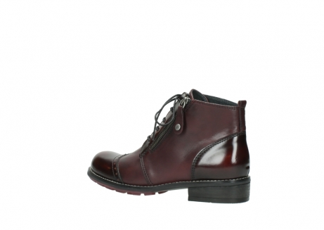 wolky lace up boots 04440 millstream 30510 burgundy polished leather_3