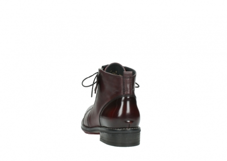 wolky lace up boots 04440 millstream 30510 burgundy polished leather_6