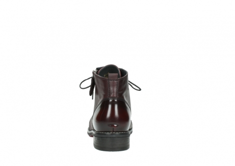 wolky lace up boots 04440 millstream 30510 burgundy polished leather_7