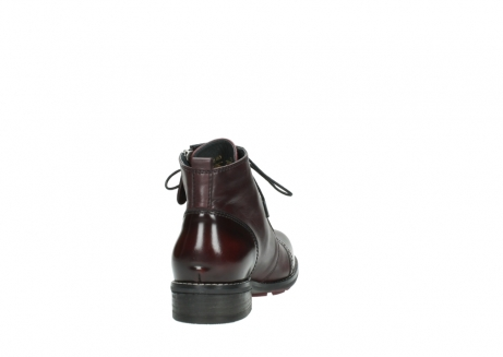 wolky lace up boots 04440 millstream 30510 burgundy polished leather_8