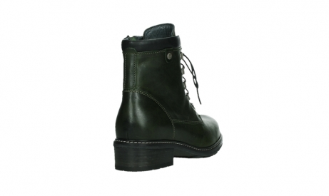 wolky lace up boots 04475 ronda 30730 forest green leather_21