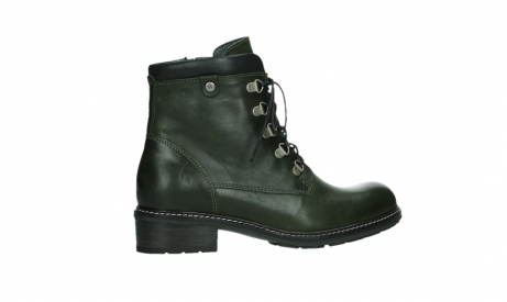 wolky lace up boots 04475 ronda 30730 forest green leather_24