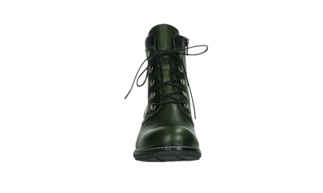 wolky lace up boots 04475 ronda 30730 forest green leather_7