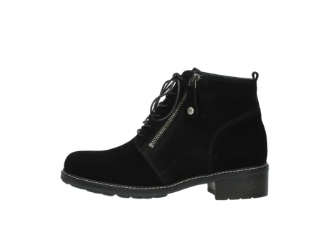 wolky lace up boots 04476 bunda 40000 black suede_1