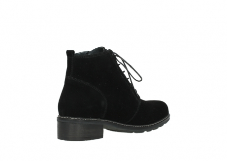 wolky lace up boots 04476 bunda 40000 black suede_10