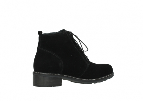 wolky lace up boots 04476 bunda 40000 black suede_11