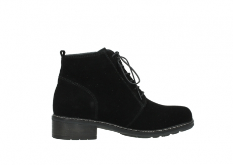 wolky lace up boots 04476 bunda 40000 black suede_12