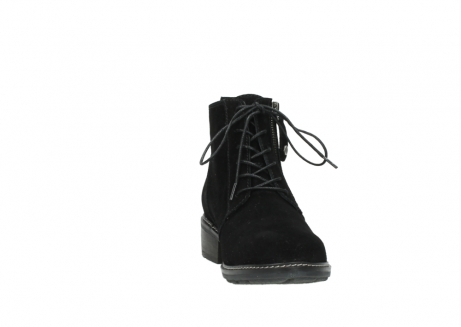 wolky lace up boots 04476 bunda 40000 black suede_18