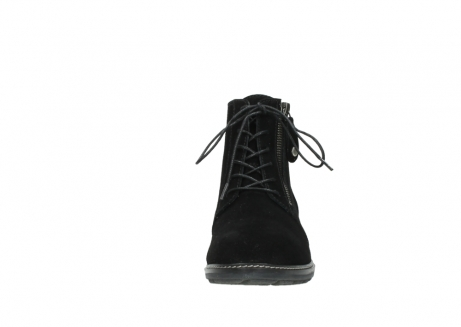 wolky lace up boots 04476 bunda 40000 black suede_19