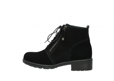 wolky lace up boots 04476 bunda 40000 black suede_2