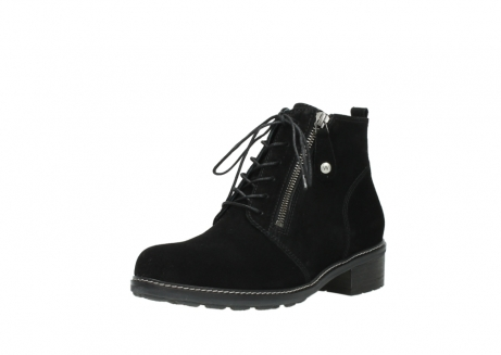 wolky lace up boots 04476 bunda 40000 black suede_22
