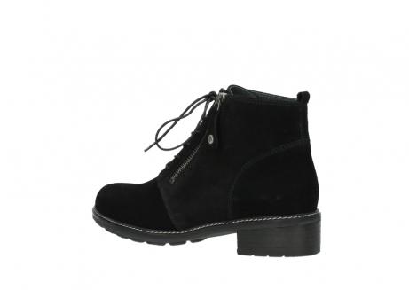 wolky lace up boots 04476 bunda 40000 black suede_3