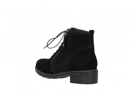 wolky lace up boots 04476 bunda 40000 black suede_4