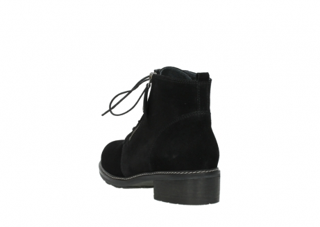 wolky lace up boots 04476 bunda 40000 black suede_5